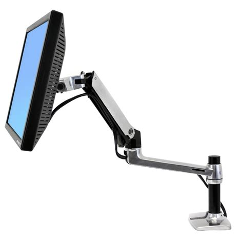ergotron lx desk mount monitor arm 45 241 026 ergotron lx desk mount