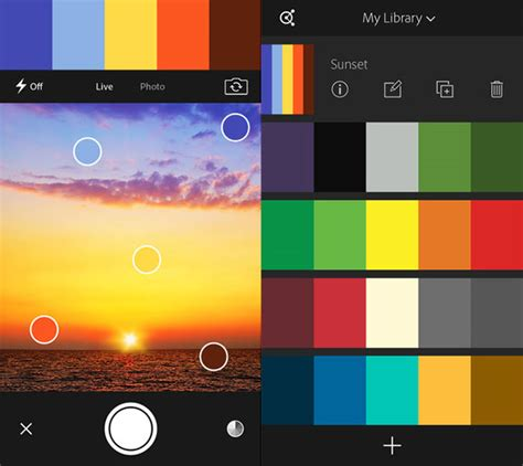 adobe color app top 10 best iphone apps for graphic designers