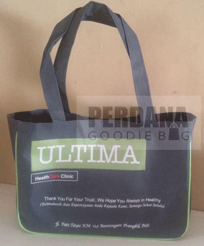 Kain Spunbond Jombang contoh tas dinier produksi perdana goodiebag tas kanvas