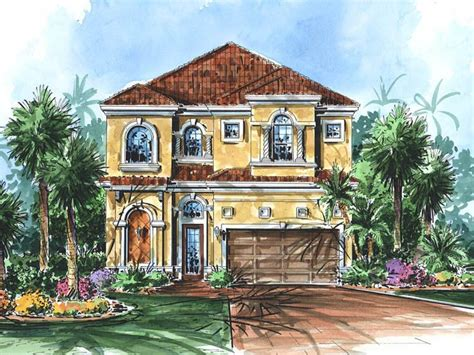 narrow lot mediterranean house plans plan 040h 0058 find unique house plans home plans and floor plans at