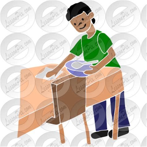 Clear The Table by Clean Table Clipart Clipart Suggest