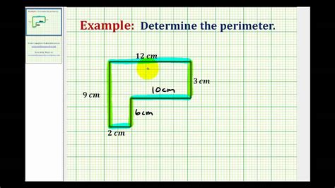 Find L by Perimeter Missing Length Lessons Tes Teach
