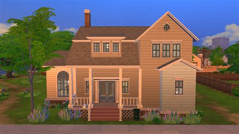 4 family homes mod the sims willow grove 4br 3 5ba