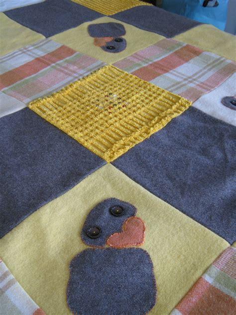 Patchwork Throw Blanket - patchwork blanket throw felt