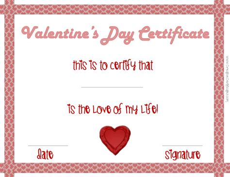 s day card for fiance free template s day certificates