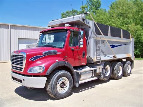 freightliner dump truck freightliner business class m2 112 dump trucks for sale