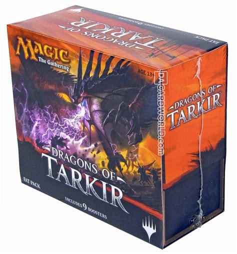 Magic Fatpack Dragons Of Tarkir magic the gathering dragons of tarkir pack box da card world