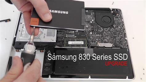 samsung  series ssd macbook pro upgrade youtube