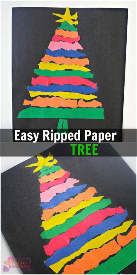 Craft Paper Tree - 12 tree crafts for tree crafts paper
