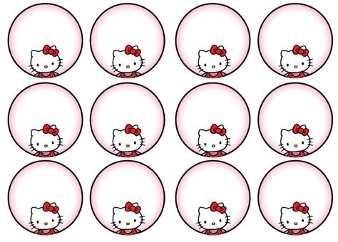 hello cupcake topper template 56 best images about hello kitti printables on