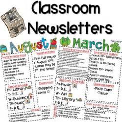 kindergarten classroom newsletter template classroom newsletter freebie kickin it in kindergarten