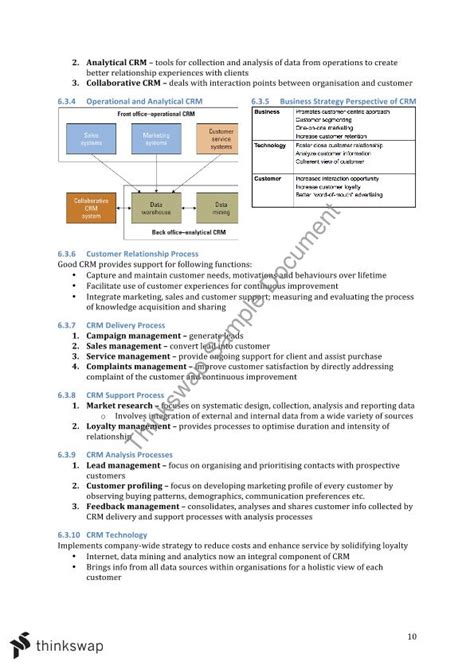 System In Business Mba Notes by Infs1602 Course Notes Infs1602 Information