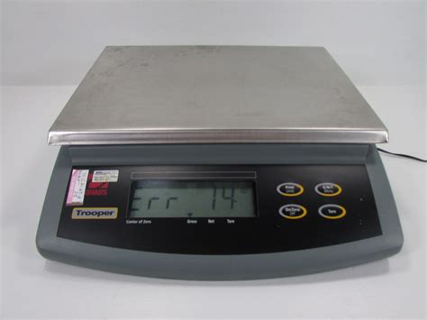 industrial bench scales trooper tr6rs industrial bench scale 9vdc 0 5amps