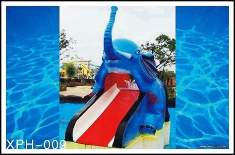 backyard water slides for kids outdoor water pool slides for kids model of small elephant