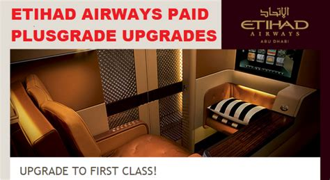 Service Letter Etihad Etihad Select Upgrade Bid For Upgrades Handled By Plusgrade Loyaltylobby