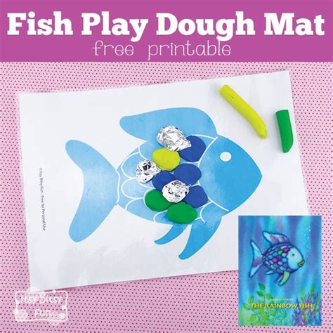 playdough mats booklet entire booklet printable fish playdough mat perfect for the rainbow fish itsy