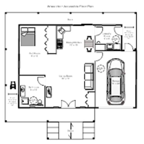 wheelchair accessible floor plans nursing home floor plan exles