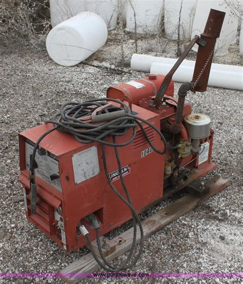 lincoln 225 dc arc welder no reserve auction on tuesday