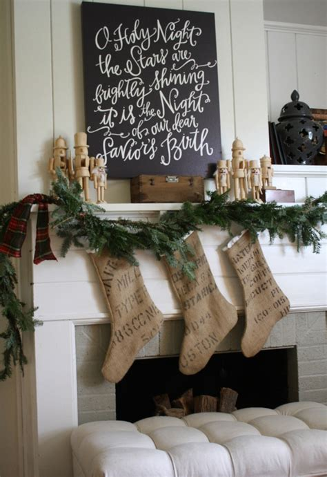 image of christmas mantle with nutcracker 50 mantles for some serious decorating inspiration