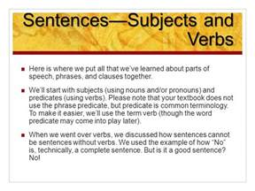 phrases and clauses and sentences oh my ppt
