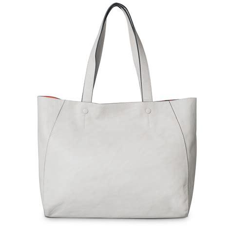 7886 Black White Tote Bag seren grey contrast inner tote bag oliver bonas