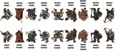 printable heroes dwarf fantasy characters 007 d d paper tokens pinterest