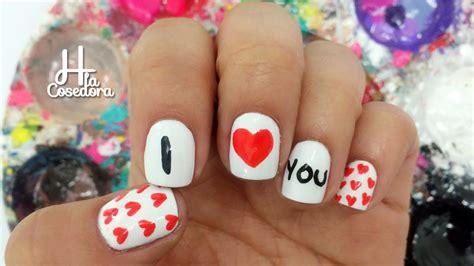 imagenes de uñas decoradas para san valentin decoracion de u 241 as san valentin valentine s day nail art