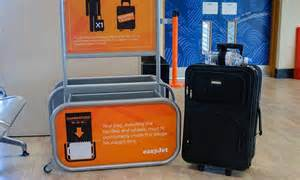 cabin size luggage easyjet easyjet scraps its guaranteed bag in cabin policy for
