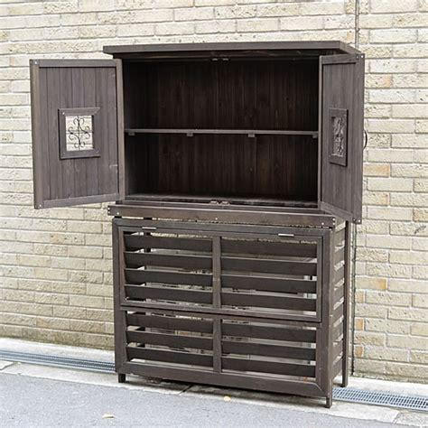 Air Conditioned Storage Shed by Atgarden Rakuten Global Market Wooden Air Conditioning