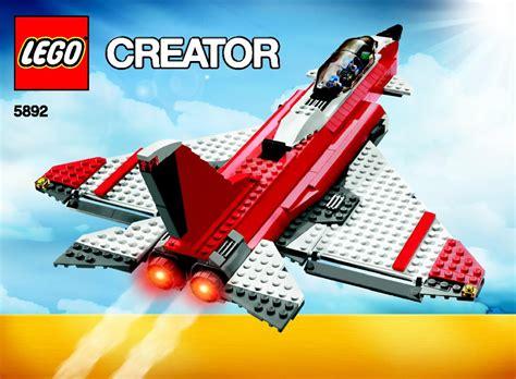 lego boat directions lego sonic boom jet boat plain 5892 set jet