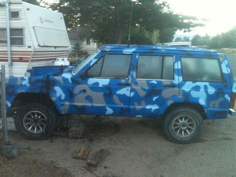 blue camo jeep 1985 xj blue camo page 3 jeep forum