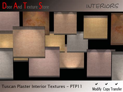 second life marketplace plaster wall textures interior