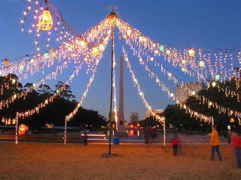 hermann park holiday lights