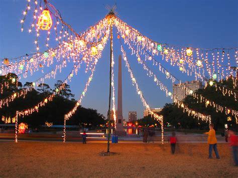Lights In Hermann Park by Hermann Park Lights