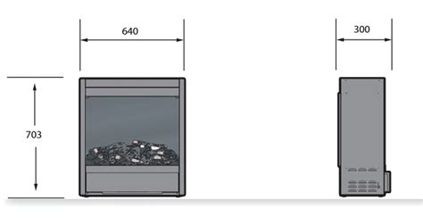 Kamin Raumteiler 1499 by Elektrokamineinsatz E2800h De Luxe Rf10
