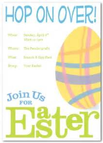 Easter Invitation Templates by Printable Easter Invitation Template