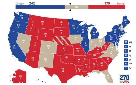 last us election map electoral map a mess 2016 election will change everything