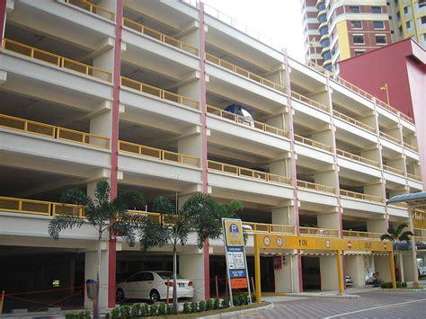 Multi Sg file multi storey car park in a housing and development