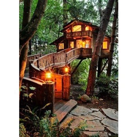 Small Log Cabin Home Plans tree house tumblr polyvore