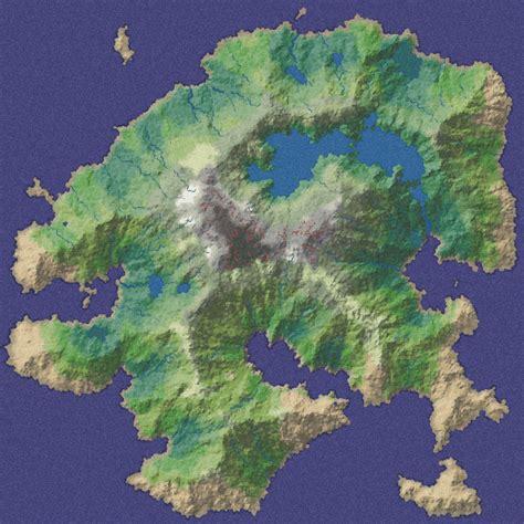 world map image generator polygonal map generation for