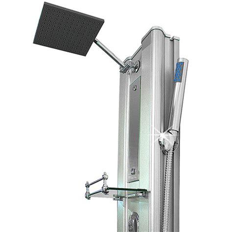 specchio per doccia miscelatore per bagno colonna idromassaggio satinata 10