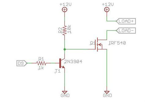 transistor l driver circuit arduino solar charge controller version 1 6