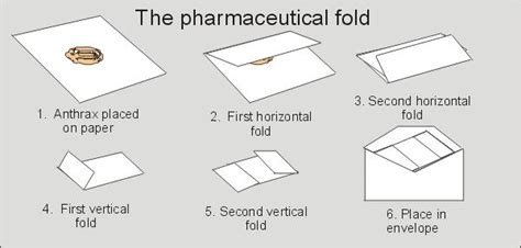 How To Fold A Paper Into A Letter - how did anthrax quot cross contamination quot occur