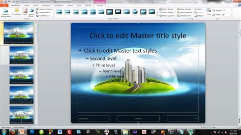 How To Make Your Own Powerpoint Themes Youtube How To Make Ppt Template 2007