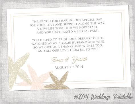 Free Thank You Card Template Wedding
