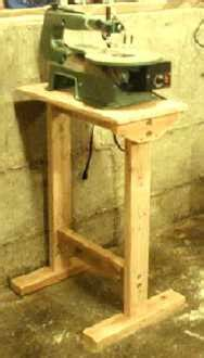 scroll saw bench plans scrollsaw stand