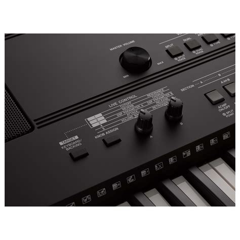 Keyboard Yamaha E463 Yamaha Psr E463 Keyboard At Gear4music