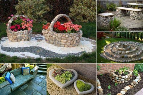 piedras para el jardin decoraci 211 nes con piedras imperdibles para el jard 205 n