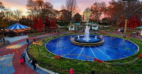 Franklin Square Garden by Franklin Square Visit Philadelphia Visitphilly