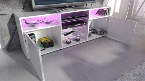 porta rgb porta tv chopin mobile soggiorno moderno con led con